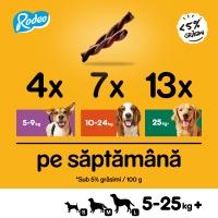 PEDIGREE Rodeo, recompense câini, batoane, Vită, 70g