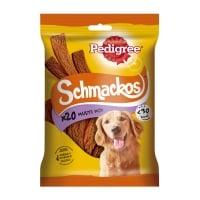 PEDIGREE Schmackos Multi Mix, recompense câini, benzi moi, carne, 20buc