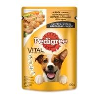 PEDIGREE Vital Protection Adult, Pui, plic hrană umedă câini, (în sos), 100g