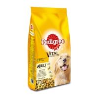 PEDIGREE Vital Protection Adult, Pui și Legume, pachet economic hrană uscată câini, 10kg x 2