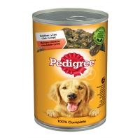 PEDIGREE Vital Protection Adult, Vită și Pasăre, pachet economic conservă hrană umedă câini, (în aspic), 1.2kg x 6