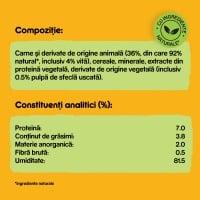 PEDIGREE Vital Protection Adult, Vită și Pasăre, conservă hrană umedă câini, (în aspic), 400g