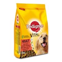 PEDIGREE Vital Protection Adult, Vită și Pasăre, hrană uscată câini, 2.6kg