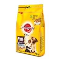 PEDIGREE Vital Protection Junior Mini, Pui și Orez, hrană uscată câini junior, 400g