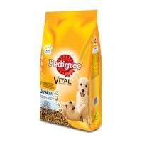 PEDIGREE Vital Protection Junior, Pui și Orez, hrană uscată câini junior, 10kg