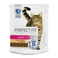 PERFECT FIT Cat Adult, Pui, hrană uscată pisici, 750g