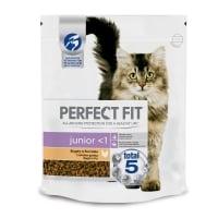 PERFECT FIT Cat Junior, Pui, hrană uscată pisici junior, 750g