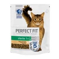 PERFECT FIT Cat Sterile, Pui, hrană uscată pisici sterilizate, 750g