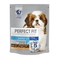 PERFECT FIT Dog Junior Small, Pui, hrană uscată câini junior, 825g