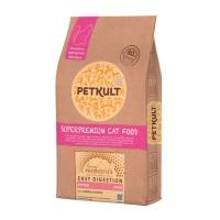 PETKULT Easy Digestion Kitten 34/22, Miel și Pui, pachet economic hrană uscată pisici junior, 7kg x 2