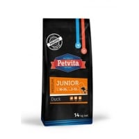 Petvita Junior Medium, Duck, 14 Kg