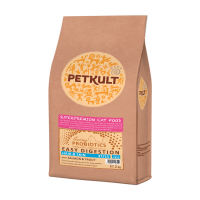 Petkult Cat Probiotics Hair&Skin cu Somon, 2 kg