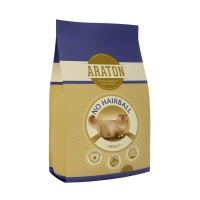 Araton Cat Adult No Hairball 12kg+3kg GRATIS