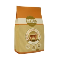 Araton Cat Adult Pui & Curcan 1kg+500g GRATIS