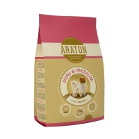Araton Dog Adult Mini&Medium 2.3kg+700g GRATIS