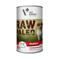 Raw Paleo Puppy Dog Vita si Orez 400 g