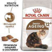 Royal Canin Ageing, 12 +, pachet economic hrană uscată pisici senior, 2kg x 2