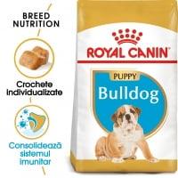 Royal Canin Bulldog Puppy, hrană uscată câini juniori, 3kg