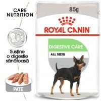 Royal Canin Digestive Care Adult, plic hrană umedă câini, confort digestiv, (pate), 85g