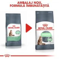 Royal Canin Digestive Care Adult, hrană uscată pisici, confort digestiv, 400g