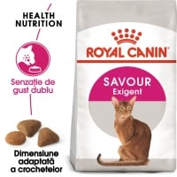 Royal Canin Exigent Savour Adult, pachet economic hrană uscată pisici, apetit capricios, 4kg x 2