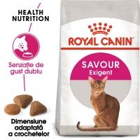 Royal Canin Exigent Savour Adult, pachet economic hrană uscată pisici, apetit capricios, 2kg x 2