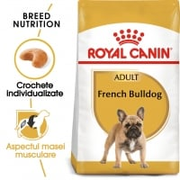Royal Canin French Bulldog Adult, hrană uscată câini, 3kg