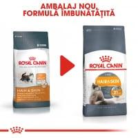 Royal Canin Hair & Skin Care Adult, hrană uscată pisici, piele și blană 4kg