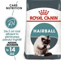 Royal Canin Hairball Care Adult, pachet economic hrană uscată pisici, limitarea ghemurilor de blană, 10kg x 2