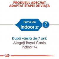 Royal Canin Indoor Adult, pachet economic hrană uscată pisici de interior, 4kg x 2