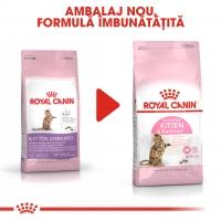 Royal Canin Kitten Sterilised, pachet economic hrană uscată pisici sterilizate junior, 2kg x 2