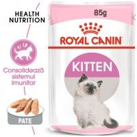 Royal Canin Kitten, plic hrană umedă pisici, (pate), 85g