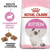 Royal Canin Kitten, pachet economic hrană uscată pisici junior, 4kg x 2