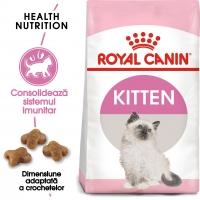 Royal Canin Kitten, pachet economic hrană uscată pisici junior, 2kg x 2