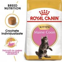 Royal Canin Maine Coon Kitten, pachet economic hrană uscată pisici junior, 10kg x 2