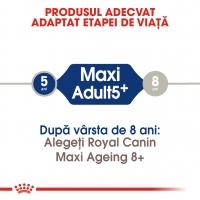 Royal Canin Maxi Adult 5+, pachet economic hrană uscată câini, 15kg x 2