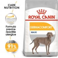 Royal Canin Maxi Dermacomfort, hrană uscată câini, prevenirea iritațiilor pielii, 3kg