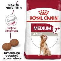 Royal Canin Medium Adult 7+, hrană uscată câini, 4kg