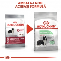 Royal Canin Medium Digestive Care, pachet economic hrană uscată câini, confort digestiv, 10kg x 2