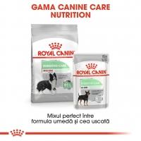 Royal Canin Medium Digestive Care, hrană uscată câini, confort digestiv, 10kg