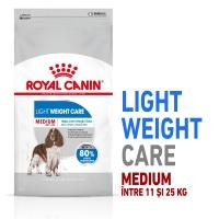 Royal Canin Medium Light Weight Care Adult, pachet economic hrană uscată câini, managementul greutății, 10kg x 2