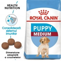 Royal Canin Medium Puppy, hrană uscată câini junior, 4kg