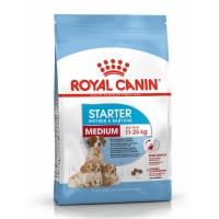 Royal Canin Medium Starter Mother & BabyDog, mama și puiul, hrană uscată câini, 4kg