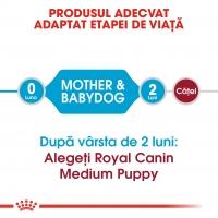 Royal Canin Medium Starter Mother & BabyDog, mama și puiul, hrană uscată câini, 12kg