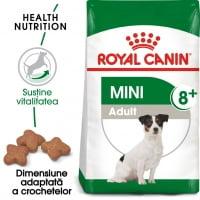 Royal Canin Mini Adult 8+, hrană uscată câini, 2kg