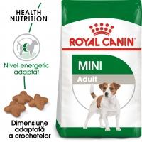 Royal Canin Mini Adult, pachet economic hrană uscată câini, 8kg x 2