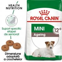 Royal Canin Mini Ageing 12+, pachet economic hrană uscată câini senior, 1.5kg x 2