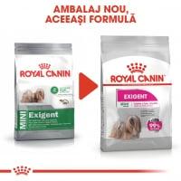 Royal Canin Mini Exigent, hrană uscată câini, apetit capricios, 3kg