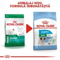 Royal Canin Mini Puppy, pachet economic hrană uscată câini junior, 8kg x 2