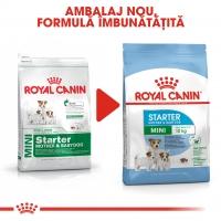 Royal Canin Mini Starter Mother & BabyDog, mama și puiul, hrană uscată câini, 3kg